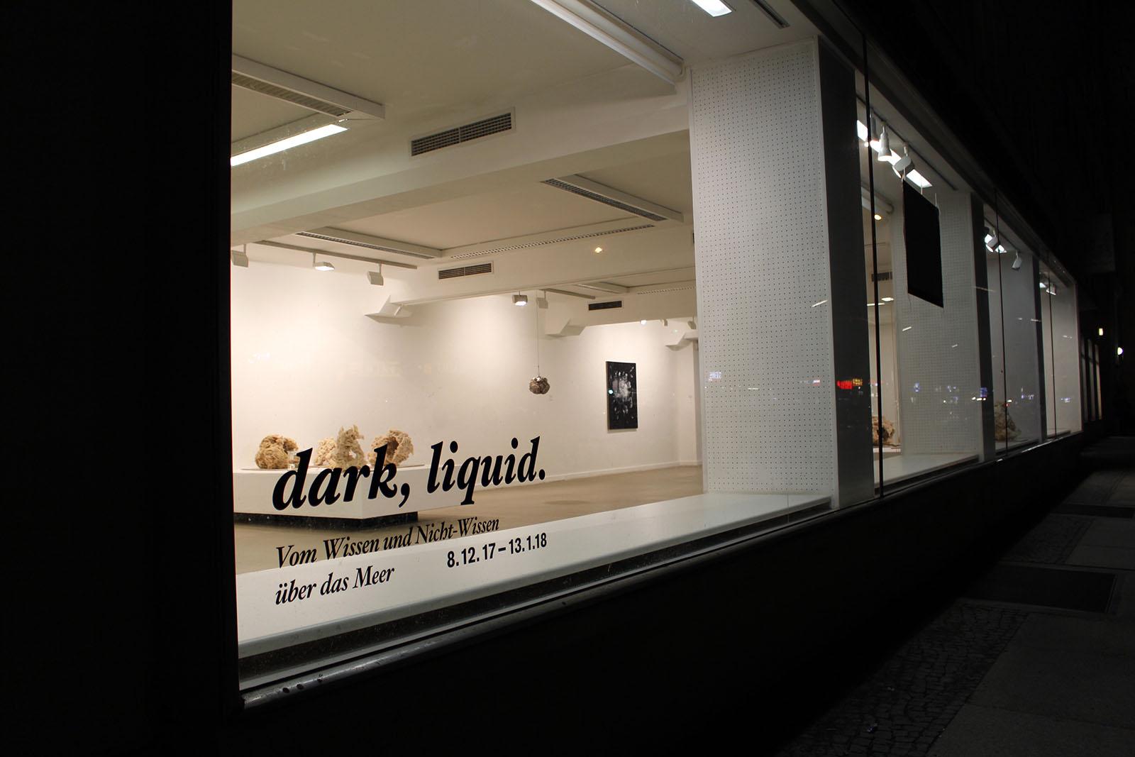 dark liquid